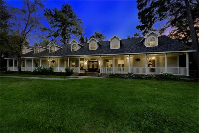 Tomball Single Family Home For Sale: 8202 Creekside Timbers