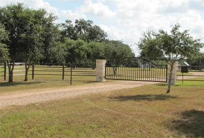 Colorado County Farm & Ranch For Sale: 1141 Tipp Road