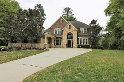 Conroe Single Family Home For Sale: 4872 West Fork Boulevard