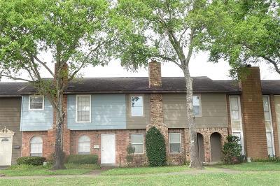 Houston Condo/Townhouse For Sale: 1533 Bonanza Road #1/533
