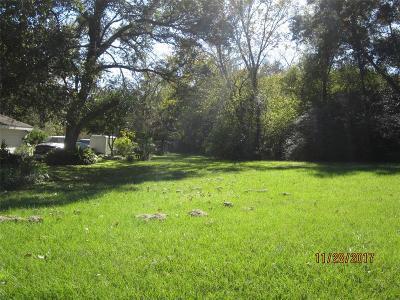 Rosenberg Residential Lots & Land For Sale: Brooks Avenue