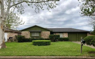 Houston Single Family Home For Sale: 6218 S Bayou Knoll Drive