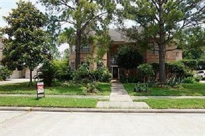 Katy Single Family Home For Sale: 2923 Hollinwell Drive