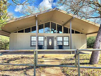 Burleson County Single Family Home For Sale: 100 Leaning Oak Lane