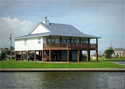 Crystal Beach Single Family Home For Sale: 1240 Waterways Drive