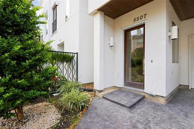 Houston Single Family Home For Sale: 5507 Rose Street