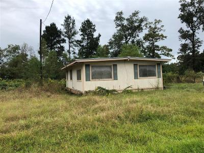 San Jacinto County Single Family Home For Sale: 100 Lakeview Drive