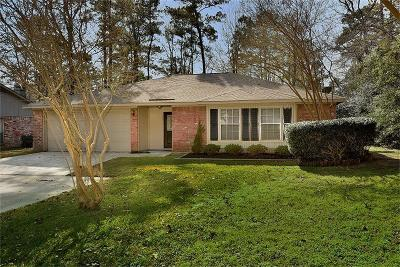 The Woodlands Single Family Home For Sale: 152 W Woodstock Circle Drive