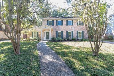 Houston Single Family Home For Sale: 619 Thistlewood Drive
