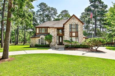 Single Family Home For Sale: 16107 Wagon Wheel Road Road