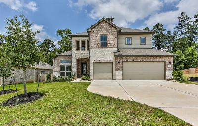 Conroe Single Family Home For Sale: 327 Black Walnut Court