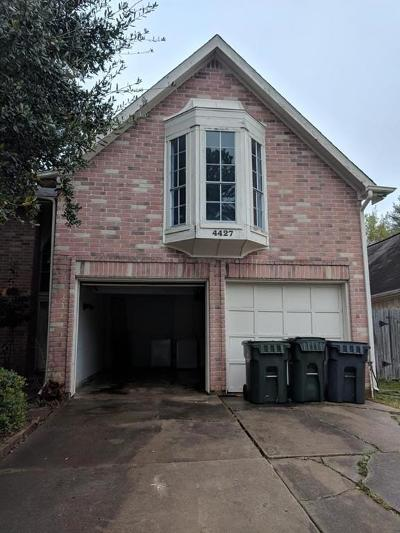 Sugar Land Single Family Home For Sale: 4427 Waterfall Way
