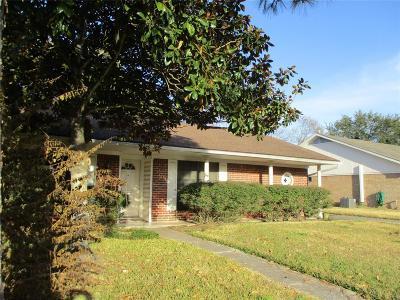 Houston TX Single Family Home For Sale: $125,000