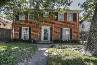 Single Family Home For Sale: 3210 Milburn Street