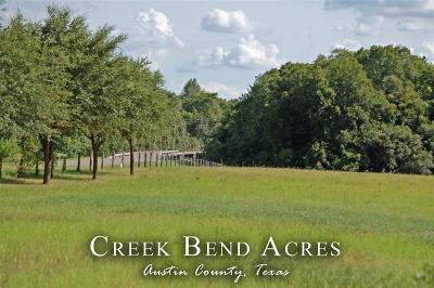 Austin County Farm & Ranch For Sale: 2223b Fm 1456