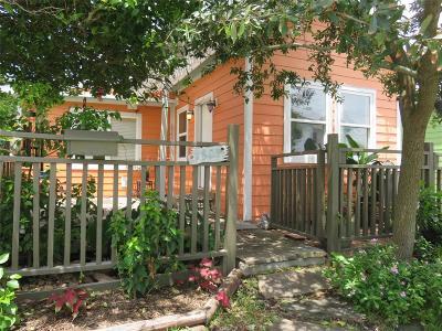 Galveston Single Family Home For Sale: 1509 17th Street