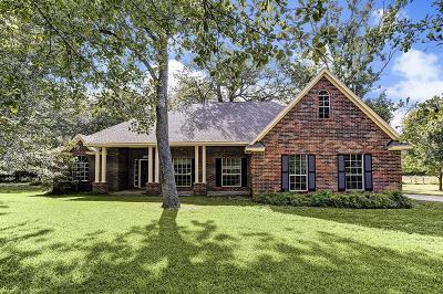 Pattison Single Family Home For Sale: 2304 Vogel Lane