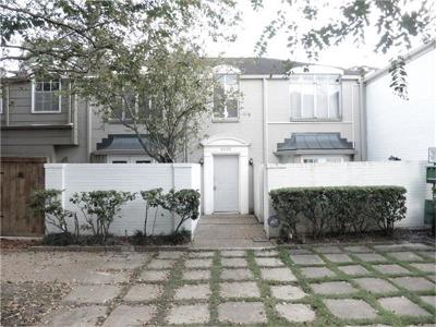 Houston Condo/Townhouse For Sale: 2535 Marilee Lane #4