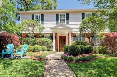 Houston TX Single Family Home For Sale: $829,000