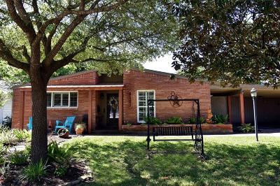 Houston Single Family Home For Sale: 5423 Carew Street