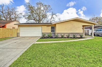 Houston Single Family Home For Sale: 1618 Antoine Drive