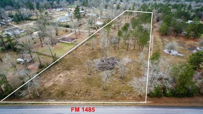 Conroe Residential Lots & Land For Sale: 13850 Fm 1485