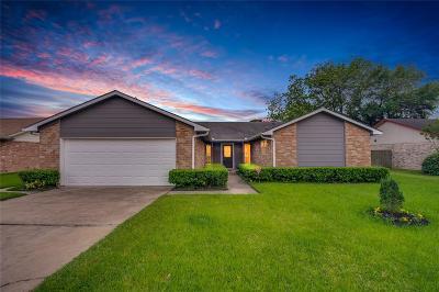 Stafford Single Family Home Option Pending: 12911 Frances Street