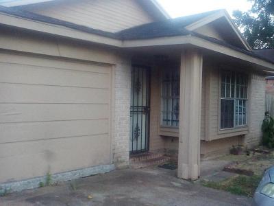 Houston Single Family Home For Sale: 16119 Alden Ridge Drive