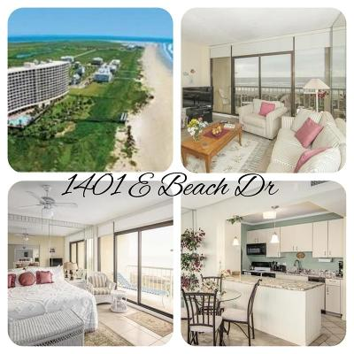 Galveston Mid/High-Rise For Sale: 1401 E Beach Drive #510