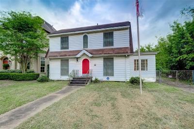 Houston Single Family Home For Sale: 6906 Van Etten Street