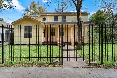 Houston Single Family Home For Sale: 1602 Arlington Street
