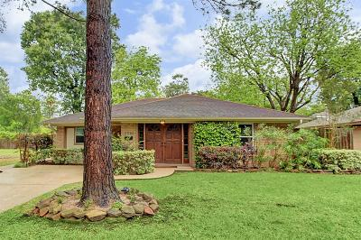 Houston Single Family Home For Sale: 2210 Wakefield Drive