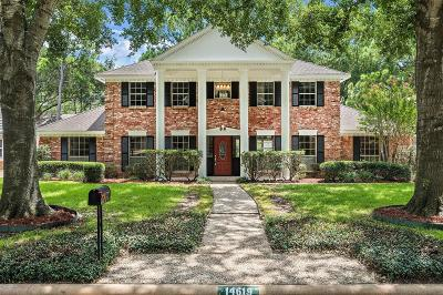 Houston Single Family Home For Sale: 14619 Carolcrest Drive