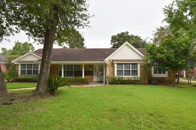 Houston Single Family Home For Sale: 854 Wycliffe Drive