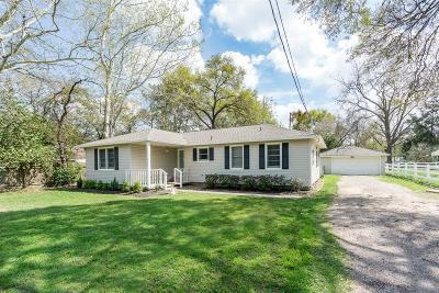 Tomball Single Family Home For Sale: 413 Carrell Street