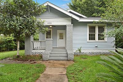 Houston Single Family Home For Sale: 4203 Walker Street