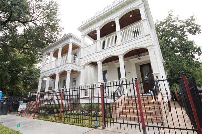 Houston Single Family Home For Sale: 925 B Tulane Street