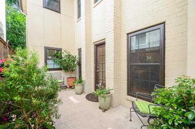 Houston Condo/Townhouse For Sale: 919 Teetshorn Street