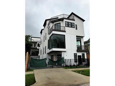 Houston Single Family Home For Sale: 810b W 17th Street