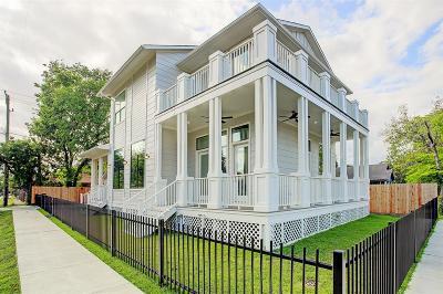 Houston Single Family Home For Sale: 1301 Cordell Street