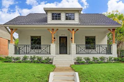 Houston Single Family Home For Sale: 6715 Park Lane