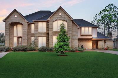 Katy Single Family Home For Sale: 1642 Pebble Chase Drive