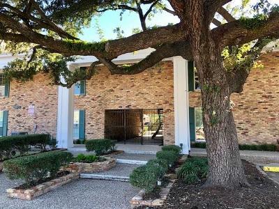 Houston Condo/Townhouse For Sale: 5333 Richmond Avenue #17