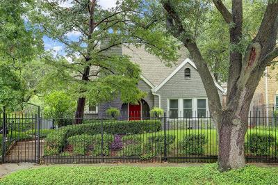 Houston Single Family Home For Sale: 1760 Harold Street