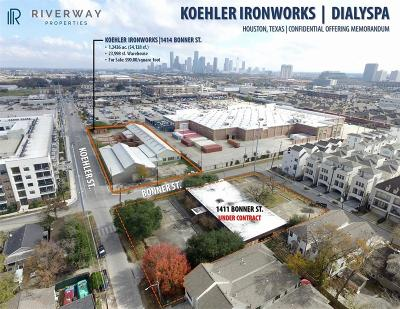 Houston Residential Lots & Land For Sale: 1414 Bonner Street