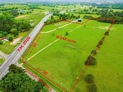 Tomball Residential Lots & Land For Sale: 15800 Fm 2920 Road