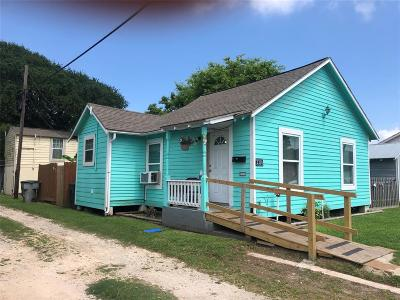 Galveston Single Family Home For Sale: 2214 55th Street