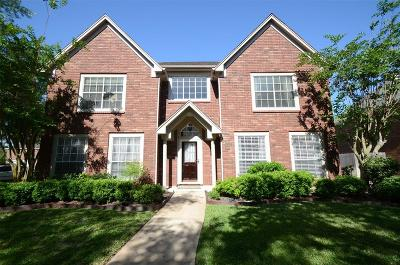 Missouri City Single Family Home For Sale: 2918 Millwood Lake Drive