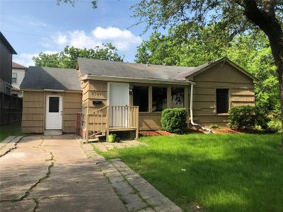 Bellaire Single Family Home For Sale: 4304 Holt Street