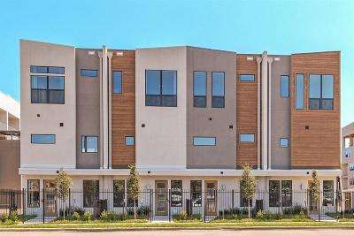 Houston Condo/Townhouse For Sale: 2401 Crawford #C4-B